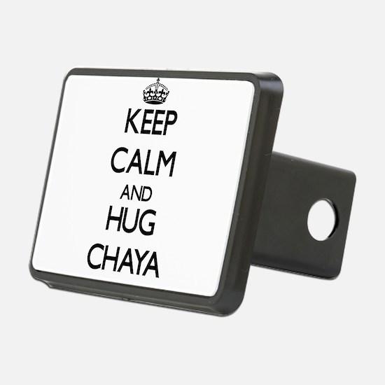 Keep Calm and HUG Chaya Hitch Cover