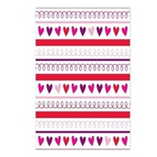 Sweet Hearts Postcards (Package of 8)