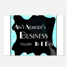 Aint Nobody Business Postcards (Package of 8)