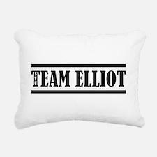TEAM ELLIOT Rectangular Canvas Pillow