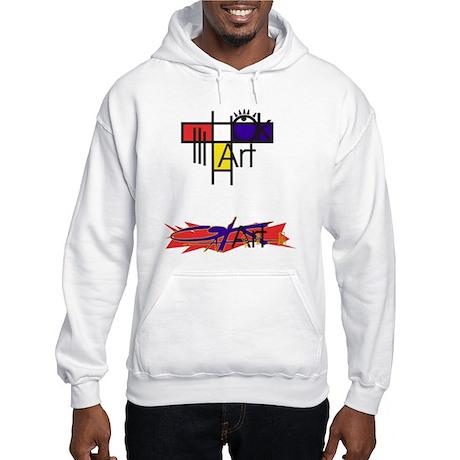 art logo Hooded Sweatshirt