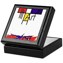 art logo Keepsake Box