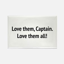 """Sound of Music - """"Love Them, Captain!"""" Magnets"""