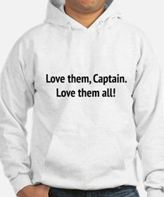 "Sound of Music - ""Love Them, Captain!"" Jumper Hood"