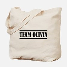 TEAM OLIVIA Tote Bag