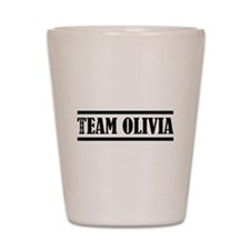 TEAM OLIVIA Shot Glass