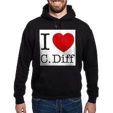 I Love C. Diff Hoody