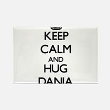 Keep Calm and HUG Dania Magnets