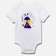 abstract drawing Infant Bodysuit