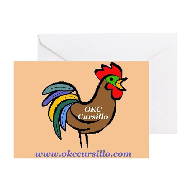 Okc Cursillo Greeting Cards Pk Of 10 By Okccursillo
