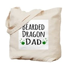 Bearded Dragon Dad Tote Bag