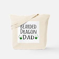 Bearded Dragon Dad Tote Bag