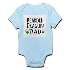 Bearded Dragon Dad Body Suit