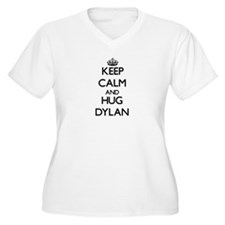 Keep Calm and HUG Dylan Plus Size T-Shirt