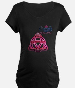 Charmed Triquetra The Power of Three 3 Maternity T