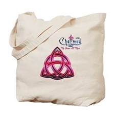 Charmed Triquetra The Power of Three 3 Tote Bag