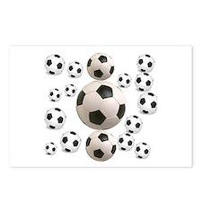 Soccer BAlls Postcards (Package of 8)