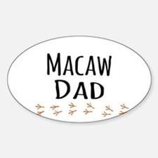 Macaw Dad Decal