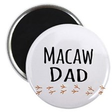 Macaw Dad Magnets