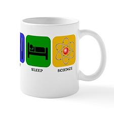 Eat Sleep Science Mugs