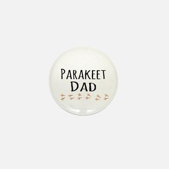 Parakeet Dad Mini Button