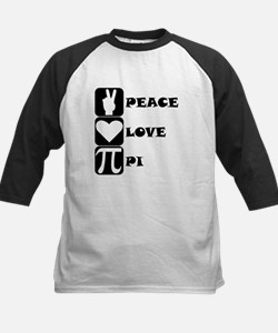 Peace Love Pi Baseball Jersey