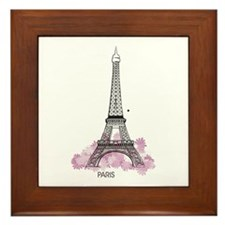 Eiffel Paris Framed Tile