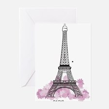 Eiffel Paris Greeting Cards (Pk of 10)