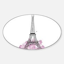 Eiffel Paris Oval Decal
