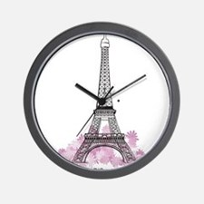 Eiffel Paris Wall Clock