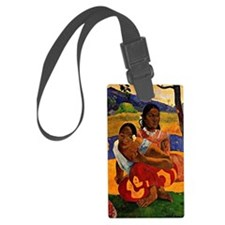 Gauguin - When are you Getting M Luggage Tag