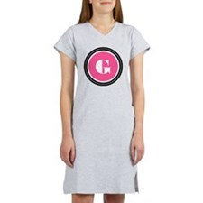 Pink G Monogram Women's Nightshirt