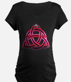 Charmed Triquetra 3 Maternity T-Shirt