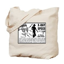 X-Ray Specs ad Tote Bag