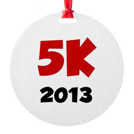2013 5K Round Ornament