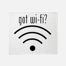 got wi-fi? Throw Blanket