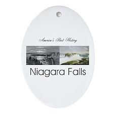 ABH Niagara Falls Oval Ornament