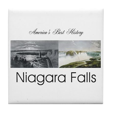 ABH Niagara Falls Tile Coaster