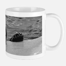 Bear With Chin on Rock Mug