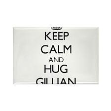 Keep Calm and HUG Gillian Magnets