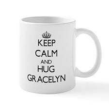 Keep Calm and HUG Gracelyn Mugs