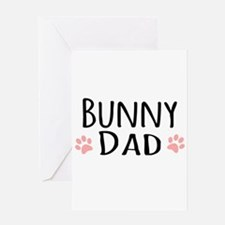 Bunny Dad Greeting Cards