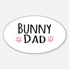 Bunny Dad Decal