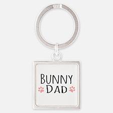 Bunny Dad Keychains