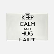 Keep Calm and HUG Hailee Magnets