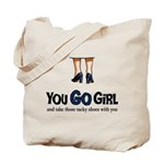 You GO Girl Tote Bag
