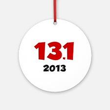 2013 13.1K Ornament (Round)