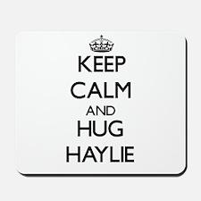 Keep Calm and HUG Haylie Mousepad
