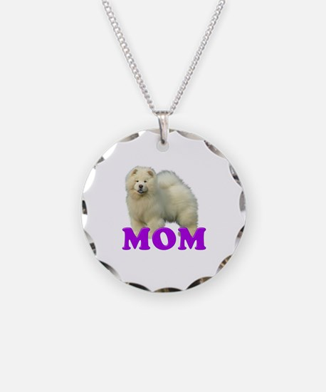 Chow Mom Necklace