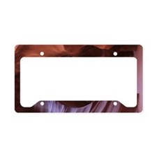 Atnelope Canyon License Plate Holder